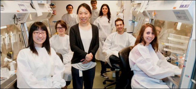 Xu Yu, MD, of the Ragon Institute, and colleagues