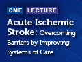 Acute Ischemic Stroke: Overcoming Barriers by Improving Systems of Care