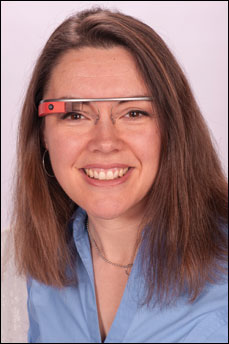 """Heather L. Evans, MD, said Google Glass has """"great potential,"""" but challenges remain."""