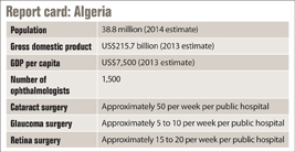 Algeria stands as unique example of universal health care in Africa