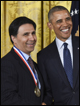 Mark Humayun, MD, PhD, receives National Medal of Technology and Innovation for Argus II research