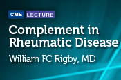 Complement in Rheumatic Disease