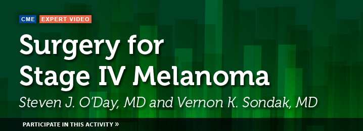 Surgery for Stage IV Melanoma